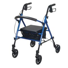 Drive Aluminum Rollator with Universal Seat Height Adjustment