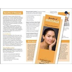 Jji Web Solutions Benefits Of Massage Brochure 50 Pack