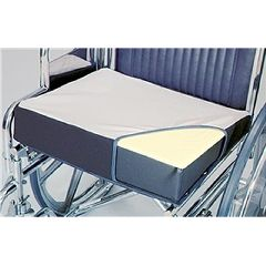 Alimed Wheelchair Wedges Foam, Soft Foundation, Polyester Cover