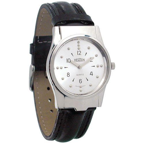 Reizen Mens Braille Watch Model 086 0159