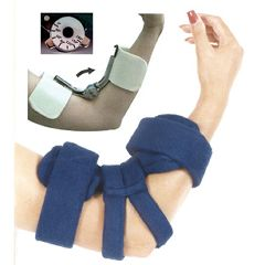 AliMed Comfy Spring-Loaded Goniometer Elbow Orthosis