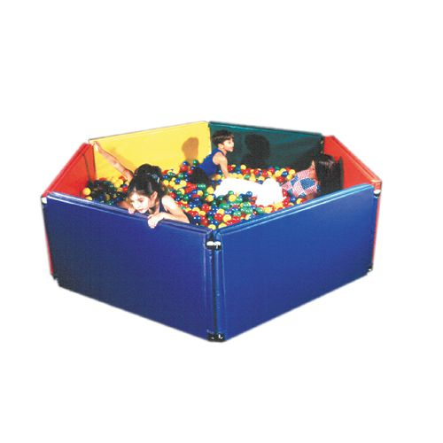 "Fabrication Sensory Ball Environment Pit - Additional Panel Only Blue, 48""X24""X3"" Model 114 5011"