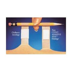 Curity Adhesive Bandage Sensitive Skin