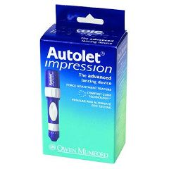Invacare Supply Group AutoLet Impression Lancet Device