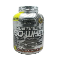 Essential Series MuscleTech Essential Series 100% Platinum Iso-Whey - Gourmet Milk Chocolate