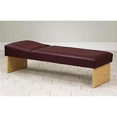 "Clinton Industries Clinton Panel Leg Couch 27""W"