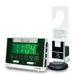 Serene Innovations CentralAlert Notification System CA360H Vibrating Alarm Clock/Receiver with Hanging Door Sensor