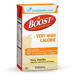 BOOST® Very High Calorie Complete Nutritional Supplement - Vanilla