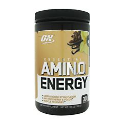 Optimum Nutrition Essential Amino Energy - Iced Cafe Vanilla