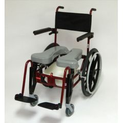 ActiveAid Upgrade Options for Advanced Folding Shower/Commode Chair