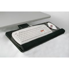 "AliMed VersaTech Keyboard and Mouse Tray, w/26"" Wrist Rest"