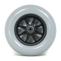 "New Solutions 8"" X 2"" Caster Wheels With Molded-on Tires and B20 Bearings"