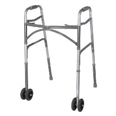 McKesson Aluminum/Steel Bariatric Folding Walker