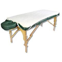 Tiger Medical Products Ltd NRG Fleece Table Pad - Natural