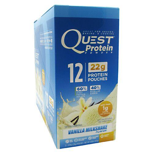 Quest Nutrition Quest Protein Powder - Vanilla Milkshake Model 171 585435 02