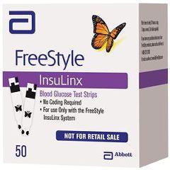 Abbott Nutrition FreeStyle InsuLinx Blood Glucose Test Strips