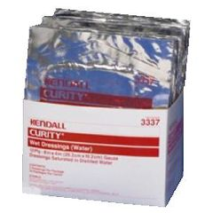 """CURITY Wet Dressing - 8"""" x 4"""" Gauze, 2 per pack, Sterile"""