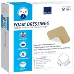 Abena® Foam Dressing, Without Border, Sterile