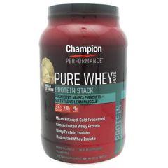 Champion Nutrition Pure Whey Plus - Vanilla Ice Cream