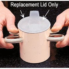 Ableware Replacement Lid for the Arthro Thumbs-Up Cup
