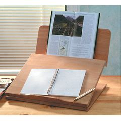 AliMed Ergo Desk Designer Series, Natural
