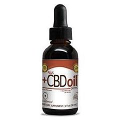 Plus CBD Oil Raw Drops