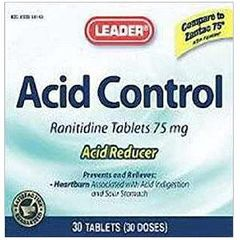 Cardinal Health Leader Ranitidine Acid Control Tablets