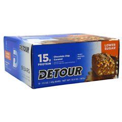 Detour Low Sugar Forward Foods Detour Low Sugar Whey Protein Bar - Chocolate Chip Caramel