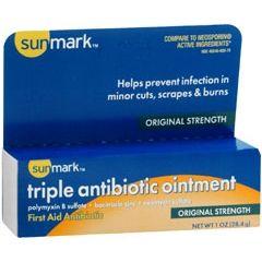 sunmark Triple Antibiotic Ointment
