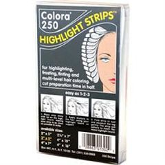 "Spilo Worldwide Colora Highlight Strips 4"" X 10"" 250 Ct"