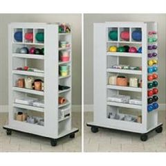 Clinton Industries Double Entry Storage Rac
