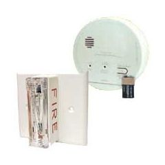 Gentex GN-503F Hard Wired Smoke & Carbon Monoxide Alarm with Ceiling Strobe