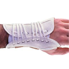 AliMed Canvas Lace-Up Wrist Support