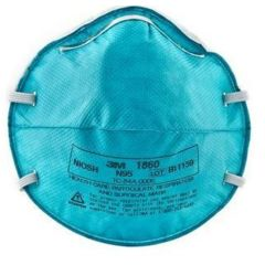 3M Particulate Respirator / Surgical Mask 3M Cone Headband One Size Fits Most