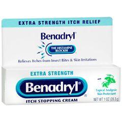 Benadryl Cream, Extra Strength