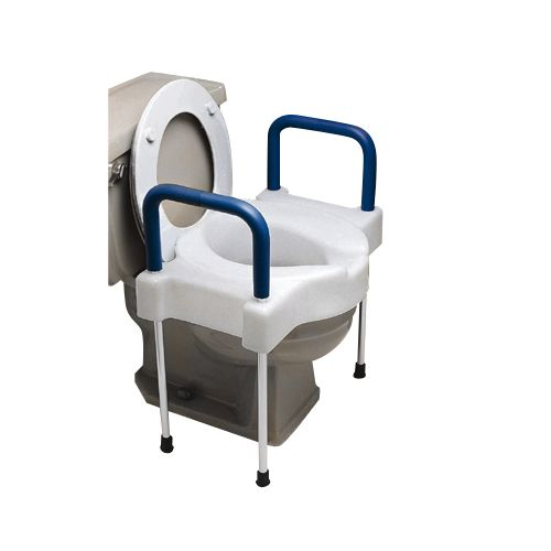 Image For Ableware Extra Wide Tall Ette Elevated Toilet