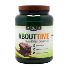 SDC Nutrition About Time Vegan Protein Brownie Mix - Brownie Mix