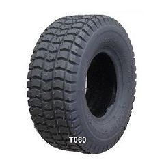 New Solutions Gray Pneumatic Knobby (Grande) Tire - 9 x 3.50-4""