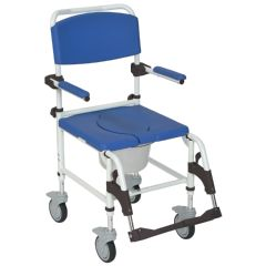 Aluminum Shower Commode Mobile Chair
