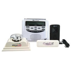 Silent Call Communications Midland Weather Alert Radio with Silent Call Light and Bed Shaker