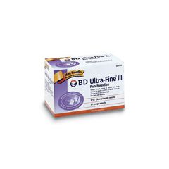 Ultra-Fine BD Ultra-Fine III Insulin Pen Needle