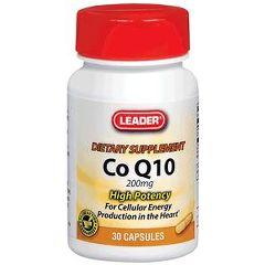 Cardinal Health Leader Q10 Vitamin Capsules