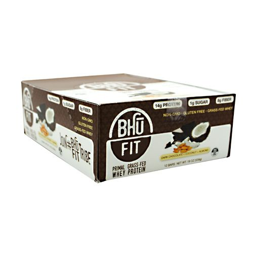 Bennett Marine Video BHU Foods BHU FIT BHU Fit Primal Protein - Dark Chocolate Coconut Almond Model 171 582849 01 Pack of 12