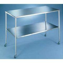 "AliMed Blickman Howard Model Instrument Tables Howard, 20""W x 16""D x 34""H, 40 lbs"