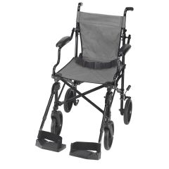 Mabis DMI Folding Transport Chair with Carrying Tote