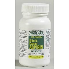 McKesson Gericare EC Low Dose Aspirin Tablet