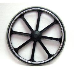 """New Solutions 24"""" x 1"""" Rear Wheel Heavy Duty"""