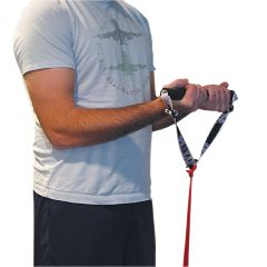 Cando Foam Padded Adjustable Sports Handle