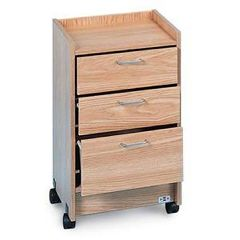 Hausmann 3 Drawer Mobile Cart