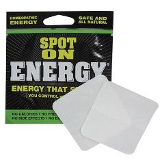 Rocasuba, Inc New Formula Spot On Energy, 2 Patches Per Pack